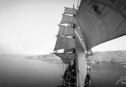 Segeln Antarktis: Hier ein Segler - Fotograf Michael Schrodt