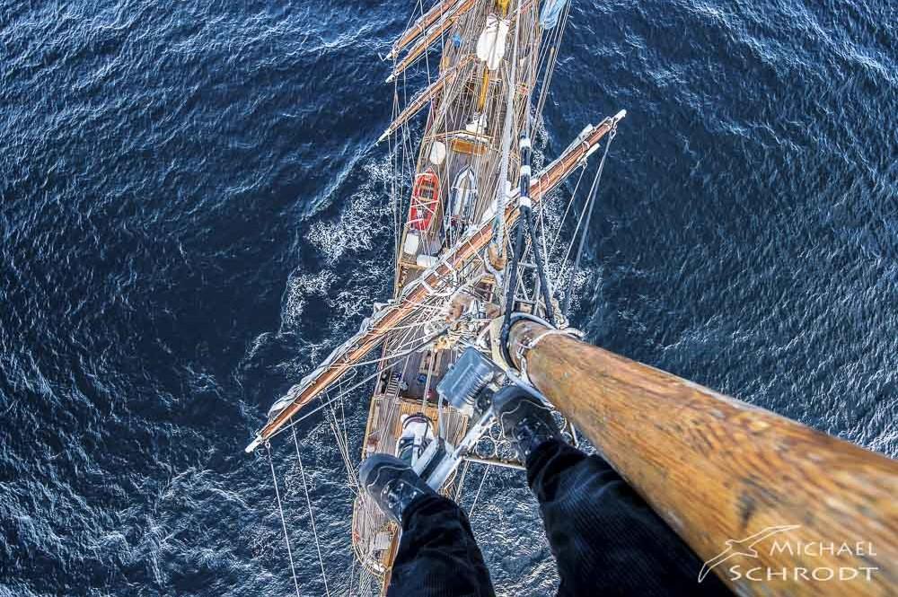 Segelschiff Mast Ausguck Bakr Europa